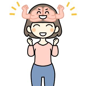 脳が元気になります。